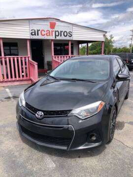 2015 Toyota Corolla for sale at Arkansas Car Pros in Cabot AR