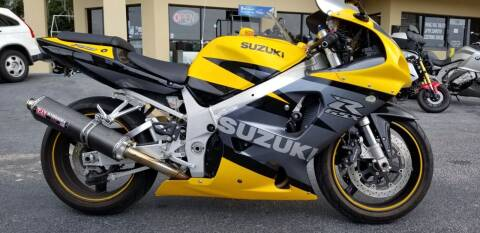 2003 Suzuki GSXR750 for sale at IMAGINE CARS and MOTORCYCLES in Orlando FL
