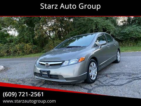 2007 Honda Civic for sale at Starz Auto Group in Delran NJ