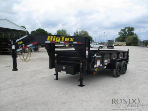 2022 Big Tex Gooseneck Dump 14GX-14BK6SIRPD
