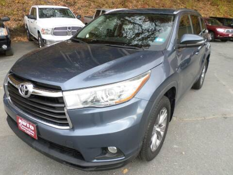 2015 Toyota Highlander for sale at AUTO CONNECTION LLC in Springfield VT