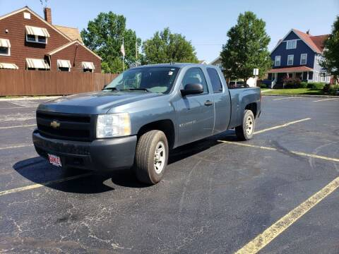 2007 Chevrolet Silverado 1500 for sale at USA AUTO WHOLESALE LLC in Cleveland OH