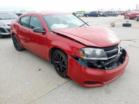 2014 Dodge Avenger for sale at RAGINS AUTOPLEX in Kennett MO