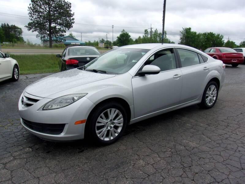 2009 Mazda MAZDA6 for sale at DAVE KNAPP USED CARS in Lapeer MI