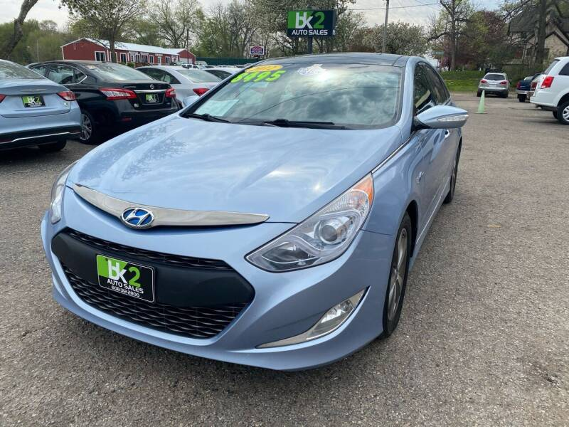2012 Hyundai Sonata Hybrid for sale at BK2 Auto Sales in Beloit WI