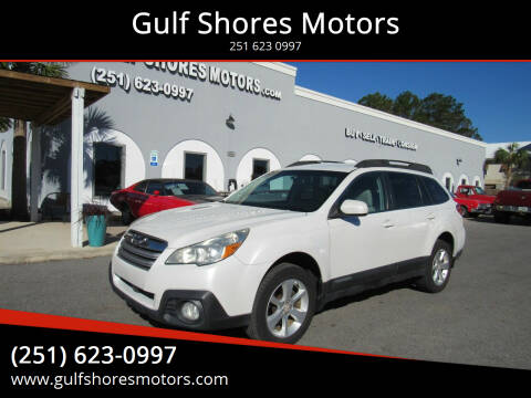2013 Subaru Outback for sale at Gulf Shores Motors in Gulf Shores AL