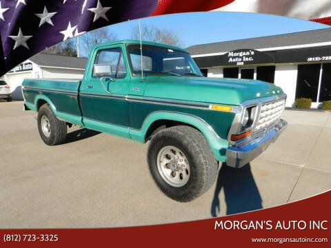 1978 Ford F-250 for sale at Morgan's Auto Inc in Paoli IN