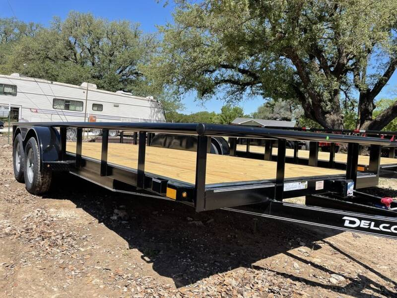 "2021 DELCO  - UTILITY 83"" X 18' - BR for sale at LJD Sales in Lampasas TX"