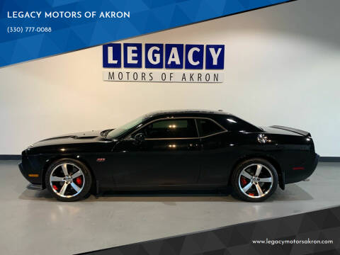 2012 Dodge Challenger for sale at LEGACY MOTORS OF AKRON in Akron OH