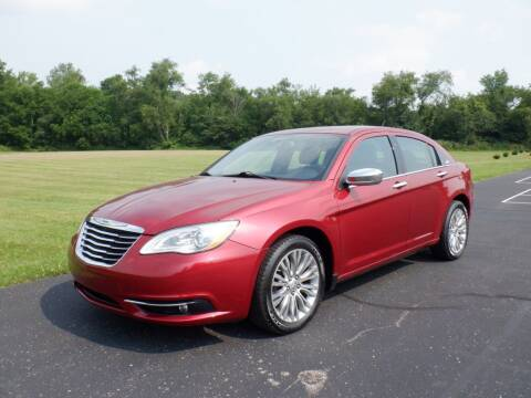 2012 Chrysler 200 for sale at MIKES AUTO CENTER in Lexington OH