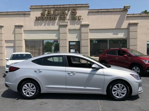 2019 Hyundai Elantra for sale at JACK'S MOTOR COMPANY in Van Buren AR