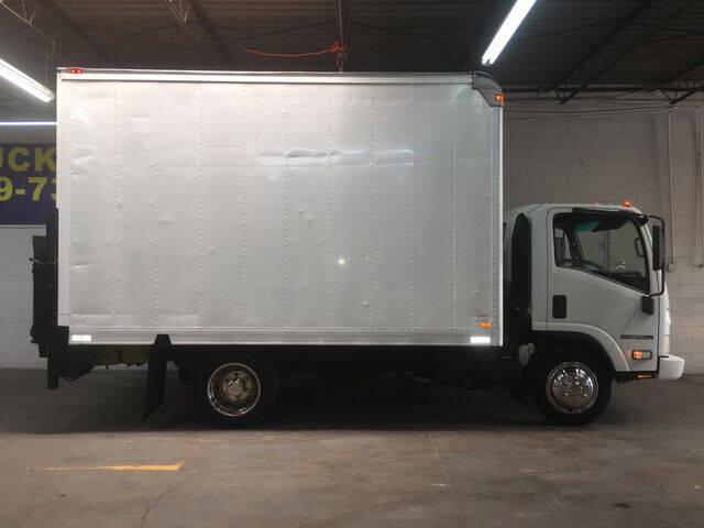 2008 Isuzu NPR HD 14FT ATLAS BOX TRUCK W/ for sale at DKR Trucks in Arlington TX