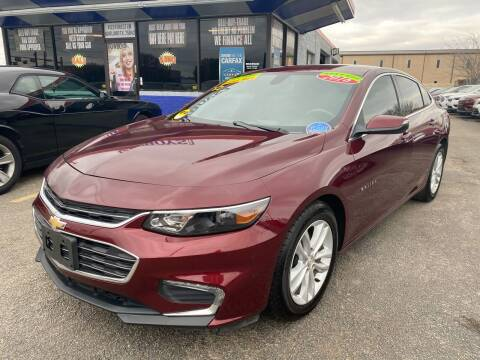 2016 Chevrolet Malibu for sale at Cow Boys Auto Sales LLC in Garland TX