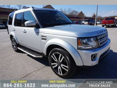 2016 Land Rover LR4 for sale at Auto Q Car and Truck Sales in Mauldin SC