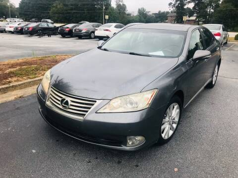 2012 Lexus ES 350 for sale at Atlanta Motor Sales in Loganville GA