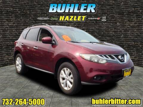 2012 Nissan Murano for sale at Buhler and Bitter Chrysler Jeep in Hazlet NJ