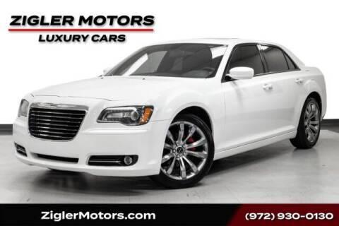 2014 Chrysler 300 for sale at Zigler Motors in Addison TX