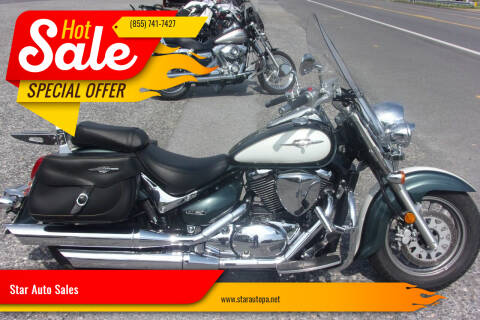 2009 Suzuki Boulevard C50 for sale at Star Auto Sales in Fayetteville PA