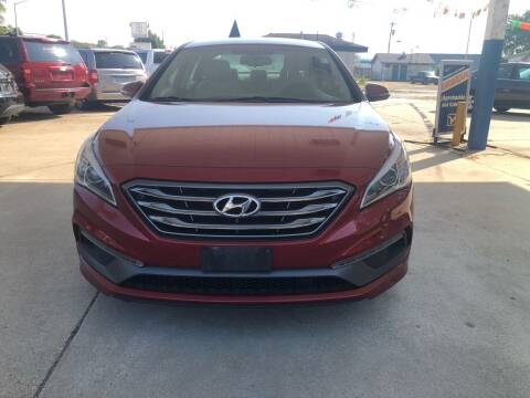 2015 Hyundai Sonata for sale at Ghazal Auto in Sturgis MI