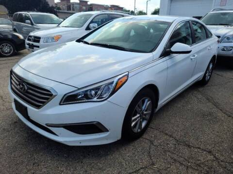 2017 Hyundai Sonata for sale at Steve's Auto Sales in Madison WI