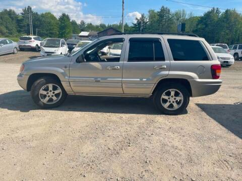 2004 Jeep Grand Cherokee for sale at Upstate Auto Sales Inc. in Pittstown NY