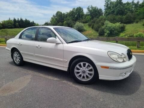2004 Hyundai Sonata for sale at Lexton Cars in Sterling VA