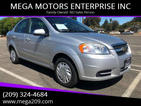 2009 Chevrolet Aveo for sale at MEGA MOTORS ENTERPRISE INC in Modesto CA