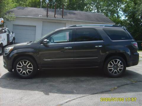 2013 GMC Acadia for sale at Northport Motors LLC in New London WI