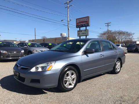 2007 Honda Accord for sale at Autohaus of Greensboro in Greensboro NC