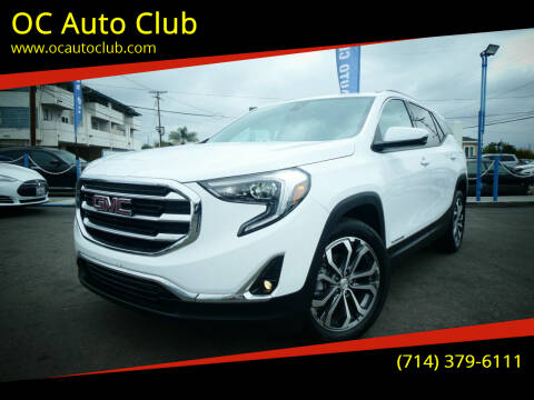 2021 GMC Terrain for sale at OC Auto Club in Midway City CA