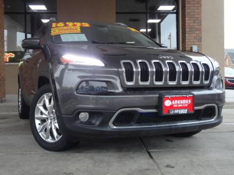 2014 Jeep Cherokee for sale at Arandas Auto Sales in Milwaukee WI