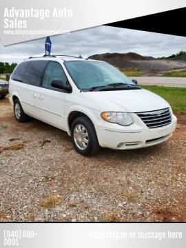 2007 Chrysler Town and Country for sale at Advantage Auto Sales in Wichita Falls TX