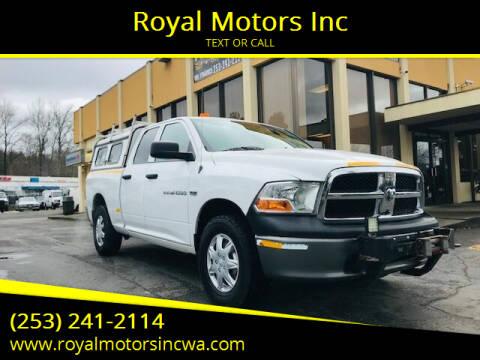 2011 RAM Ram Pickup 1500 for sale at Royal Motors Inc in Kent WA
