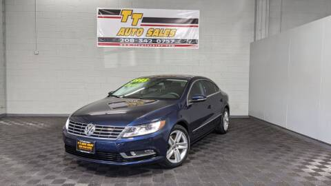 2013 Volkswagen CC for sale at TT Auto Sales LLC. in Boise ID