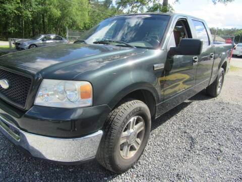 2006 Ford F-150 for sale at Bullet Motors Charleston Area in Summerville SC