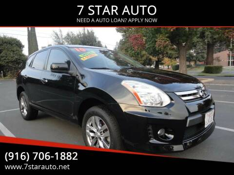 2010 Nissan Rogue for sale at 7 STAR AUTO in Sacramento CA