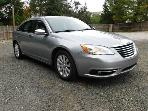 2013 Chrysler 200 for sale at Prize Auto in Alexandria VA