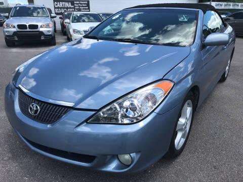 2006 Toyota Camry Solara for sale at Cartina in Tampa FL