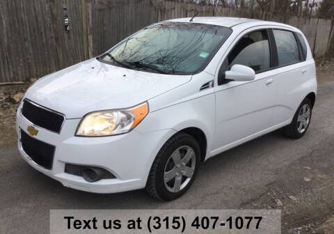 2011 Chevrolet Aveo for sale at Pete Kitt's Automotive Sales & Service in Camillus NY