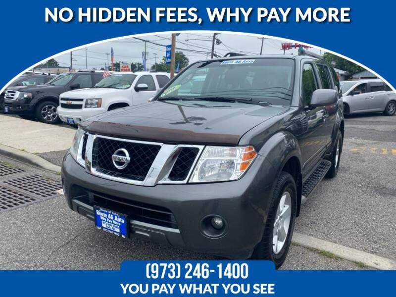 2009 Nissan Pathfinder for sale at Route 46 Auto Sales Inc in Lodi NJ