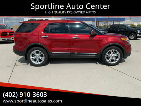 2013 Ford Explorer for sale at Sportline Auto Center in Columbus NE