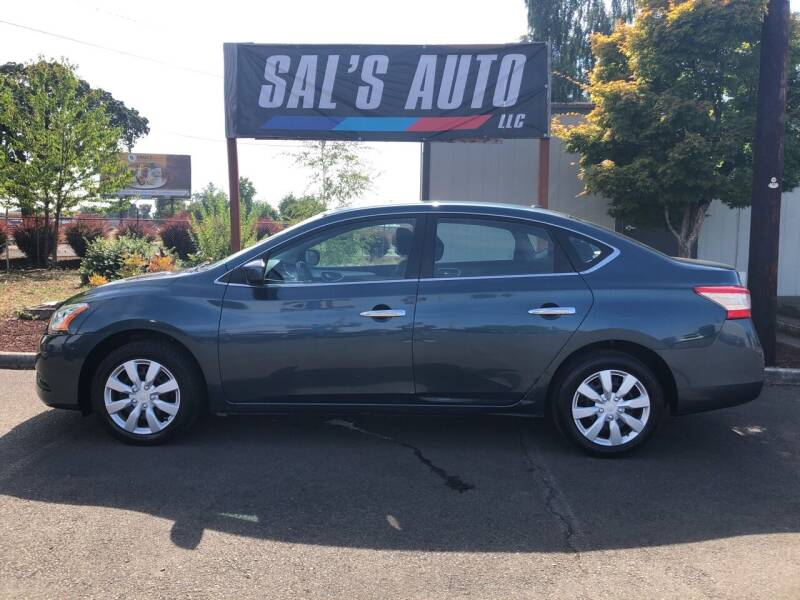 2015 Nissan Sentra for sale at Sal's Auto in Woodburn OR