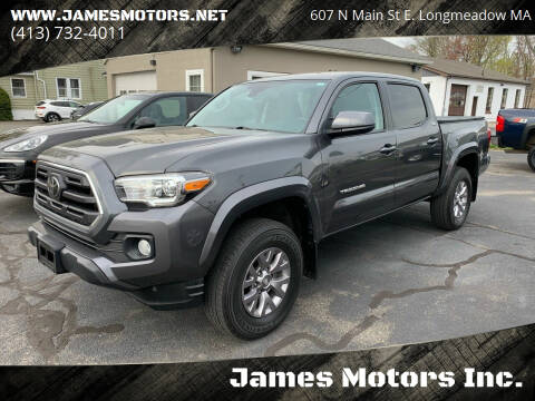 2018 Toyota Tacoma for sale at James Motors Inc. in East Longmeadow MA