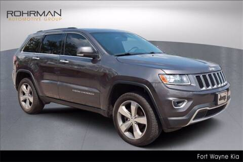 2014 Jeep Grand Cherokee for sale at BOB ROHRMAN FORT WAYNE TOYOTA in Fort Wayne IN