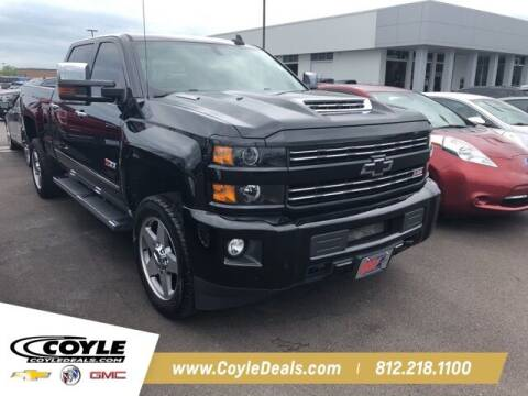 2018 Chevrolet Silverado 2500HD for sale at COYLE GM - COYLE NISSAN - New Inventory in Clarksville IN