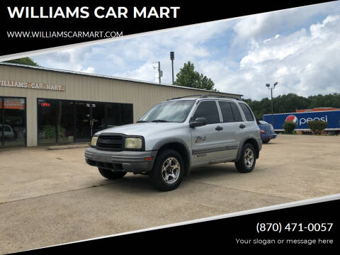 2001 Chevrolet Tracker for sale at WILLIAMS CAR MART in Gassville AR