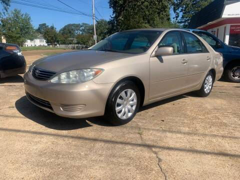 2005 Toyota Camry for sale at C & P Autos, Inc. in Ruston LA