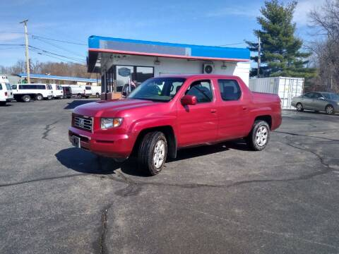 2006 Honda Ridgeline for sale at 125 Auto Finance in Haverhill MA