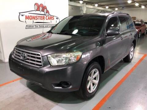 2009 Toyota Highlander for sale at Monster Cars in Pompano Beach FL