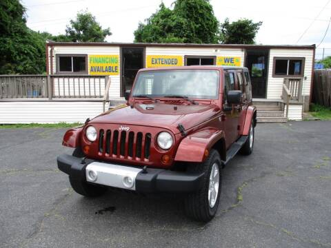 2009 Jeep Wrangler Unlimited for sale at Unlimited Auto Sales Inc. in Mount Sinai NY
